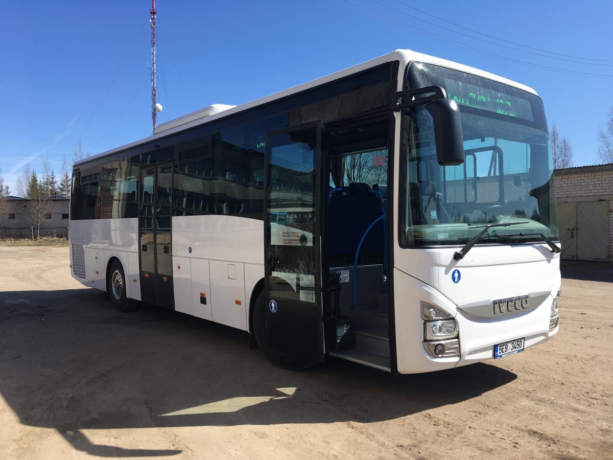 Rokiškio autobusų parkas